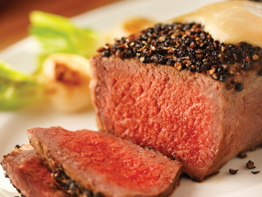Peppercorn Steak Recipe — Dishmaps